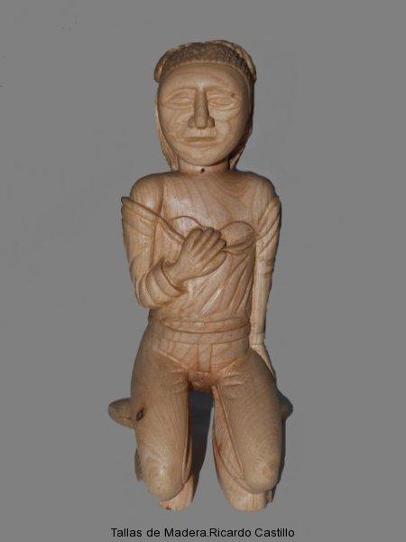 Nº6.Dama rezando (vista 2)