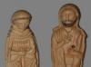 La Virgen María y San José