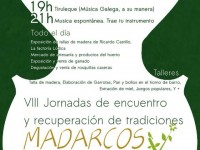 exposicion de tallas en Madarcos